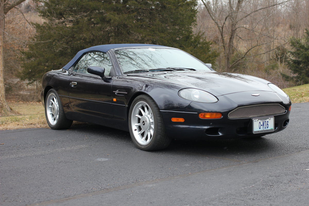 Aston Martin DB Volante Beverly Hills Edition Number Of - 1998 aston martin db7