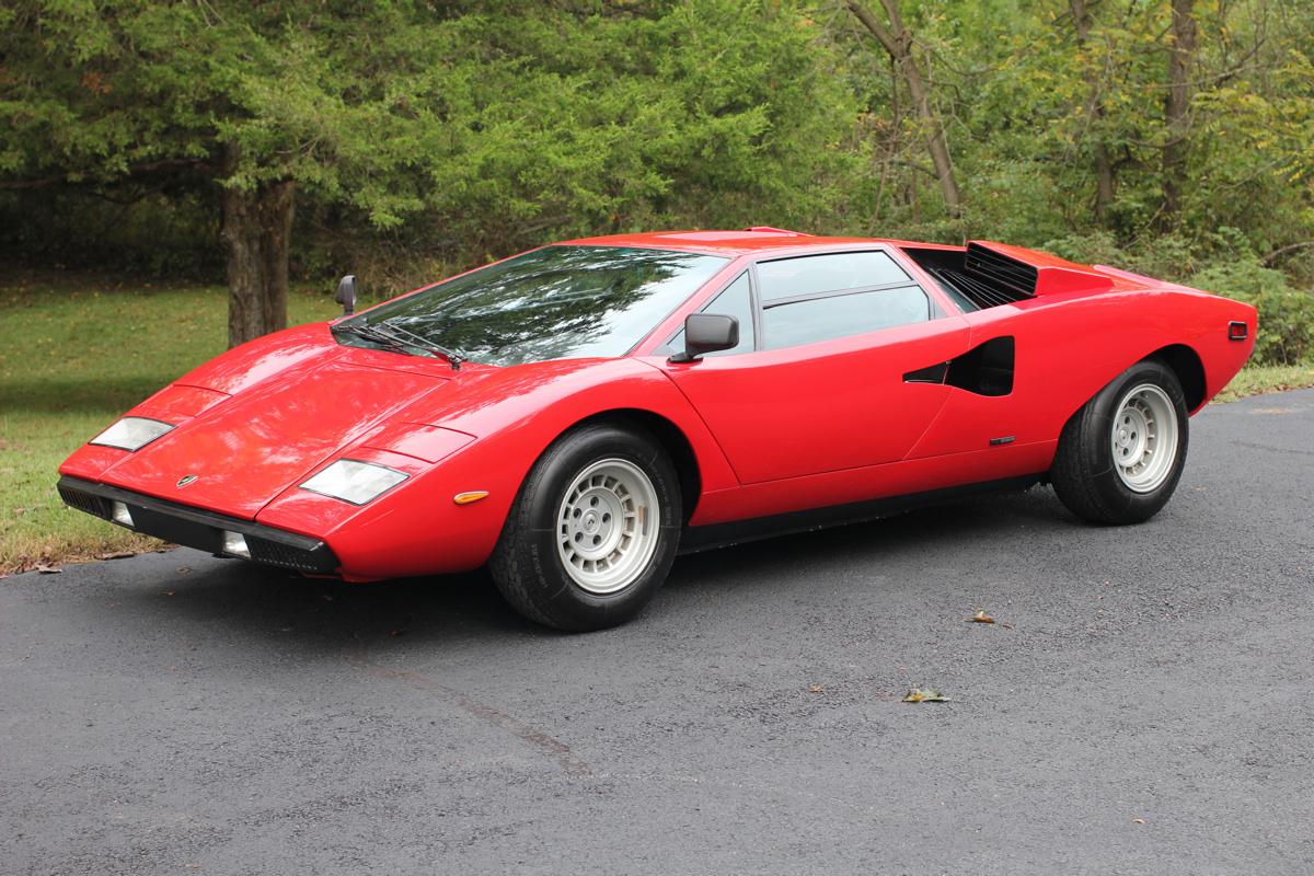 For Sale 1975 Lamborghini Countach Lp400 Periscopio